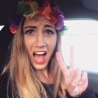 Nadja Purtschert taking a selfie