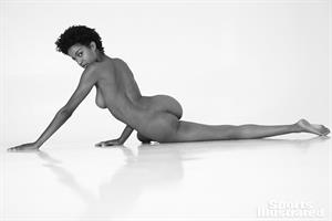 Ebonee Davis nude in Sports Illustrated 2018