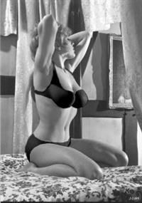 Margaret Nolan in lingerie