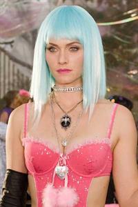 Amber Valletta in lingerie