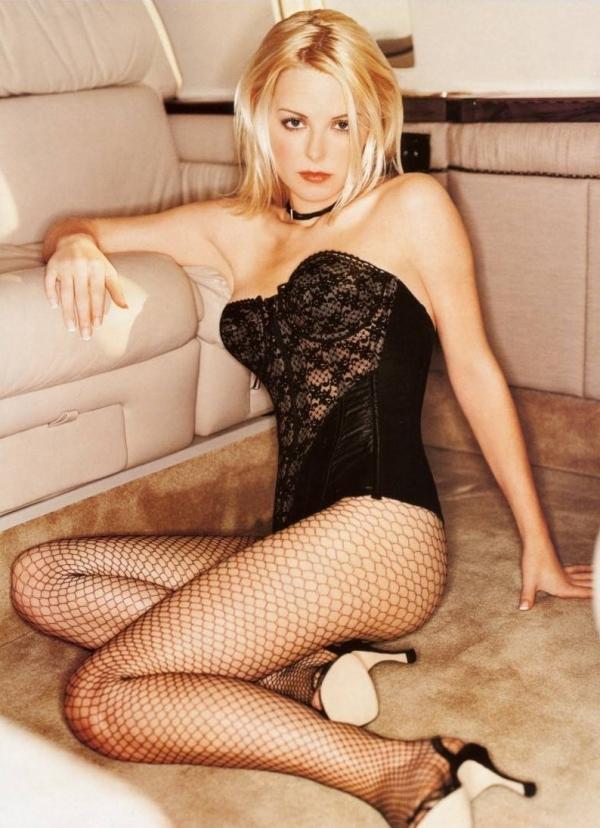 Jordan Ladd in lingerie
