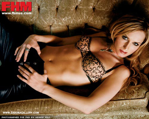 Chely Wright in lingerie