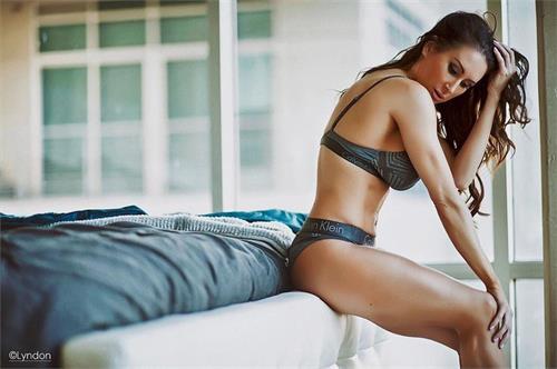 Jennifer Dawn in lingerie