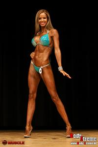Nina Eckert in a bikini