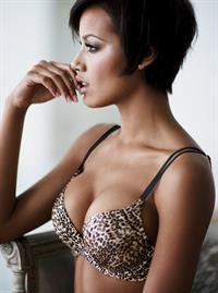 Selita Ebanks in lingerie