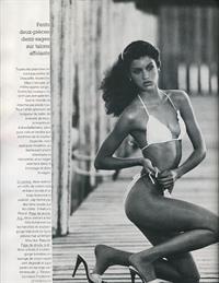 Janice Dickinson in a bikini