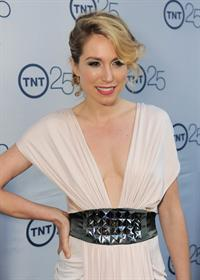 Sarah Carter TNT's 25th Anniversary Party -- Beverly Hills, Jul. 24, 2013