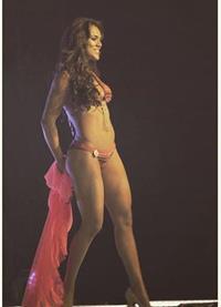 Virginia Argueta in a bikini