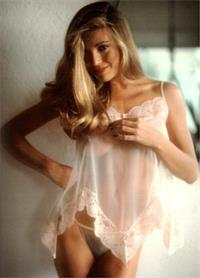 Vanna White in lingerie