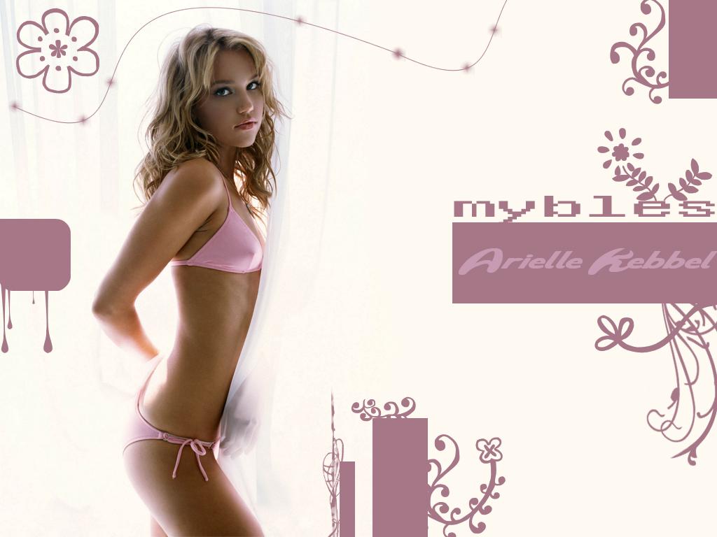 Arielle Kebbel in a bikini