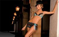 Liz Solari in lingerie