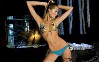 Liz Solari in a bikini