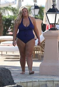 Gemma Collins in a bikini