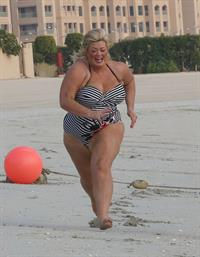 Gemma Collins in a bikini