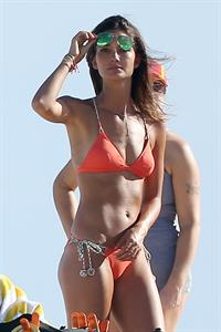 Lily Aldridge in a bikini
