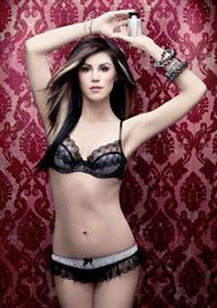 Kat Von D in lingerie