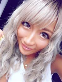 Aika taking a selfie