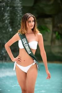 Juliana Franco in a bikini