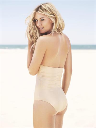 Maria Sharapova in a bikini - ass