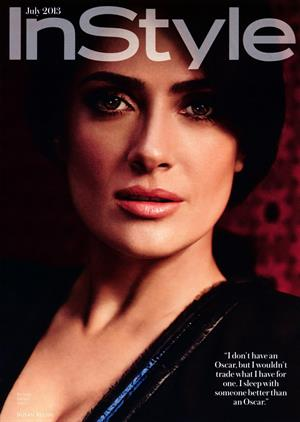 Salma Hayek Instyle (US) July, 2013