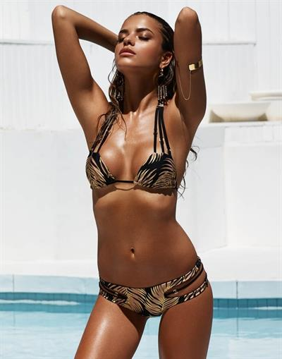 Lena Radonjic in a bikini