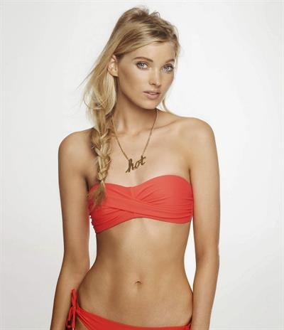 Elsa Hosk in a bikini