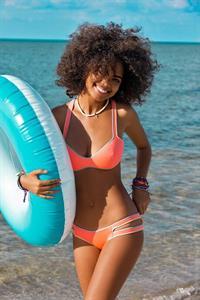 Nereyda Bird in a bikini