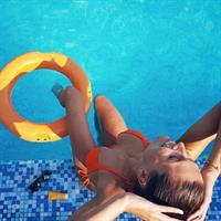 Laury Thilleman in a bikini
