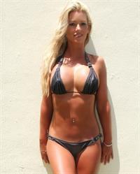 Elle Johnson in a bikini