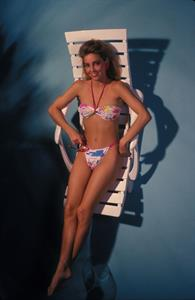 Heather Locklear in a bikini