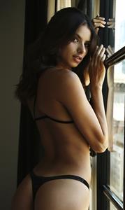 Bruna Lirio in lingerie - ass
