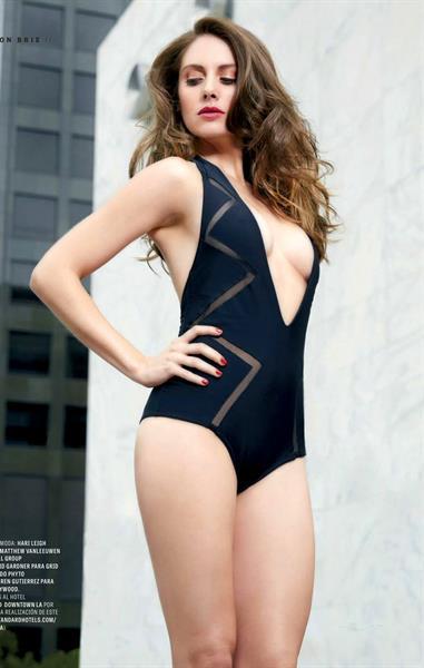 Alison Brie in a bikini