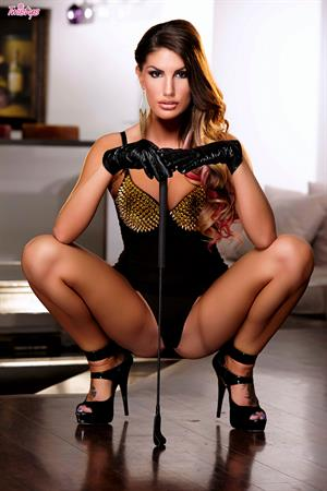 August Ames Twistys treat of the month for March 2015 (solo photoshoot)