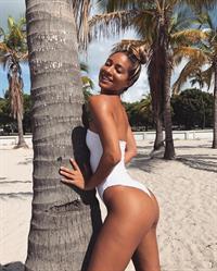 Erika Wheaton in a bikini
