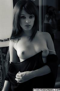 Ashley Doll Does Black, White and Red