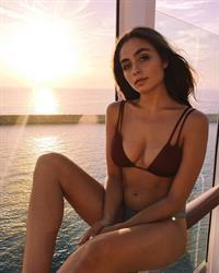 Sofia Tsakiridou in a bikini