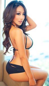 Rosie Ly in a bikini