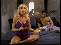 Nina Hartley in lingerie