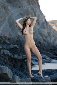 Alisa I on a Remote Beach