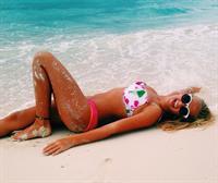 Maddy P in a bikini