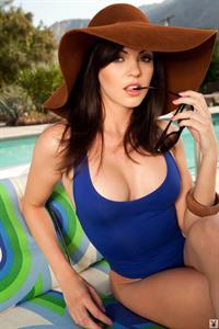 Bethanie Badertscher in a bikini