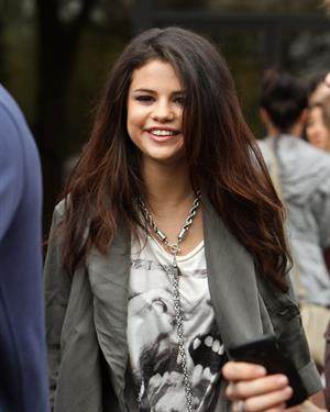 Selena Gomez - Spotted on a promotional tour in Boston (10.05.2013)