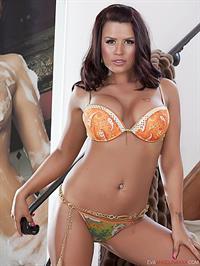 Eva Angelina in a bikini