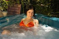 Allie Sin in a bikini