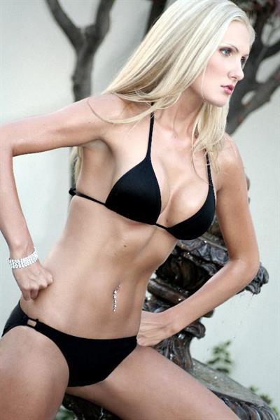 Ashley Lauren in a bikini