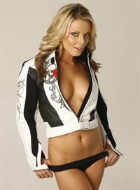 Becky Rule in lingerie