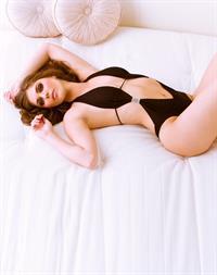 Kyra Milan in a bikini