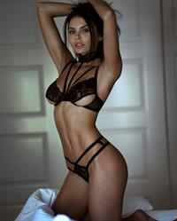 Alana Campos in lingerie
