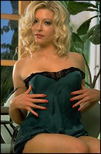 Laurie Wallace in lingerie