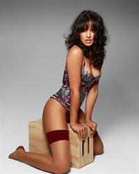 Nina Daniele in lingerie